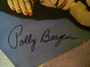 Bergen, Polly LP Signed Autograph The Party'S Over