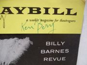 Berry, Ken Bert Convy Playbill Signed Autograph Oct 1959