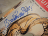 Bewitched	Elizabeth Montgomery Agnes Moorehead 1966 TV Guide Signed Autograph Color Cover