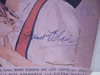 Blair, Janet Photoplay Magazine Signed Autograph August 1943
