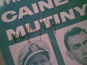Bogart, Humphrey  Jose Ferrer Van Johnson Fred Macmurray The Caine Mutiny 1954 Sheet Music Signed Autograph Theme I CanT Believe That YouRe In Love With Me