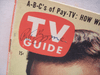 Boone, Pat TV Guide Signed Autograph 1957