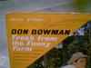 Bowman, Don LP Signed Autograph Fresh From The Funny Farm 1965