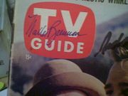 Brennan, Walter  and Richard Crenna TV Guide Magazine 1961 Signed Autograph The Real McCoys Color Cover Photo
