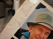 Brennan, Walter Twas The Night Before Christmas Back Home 1962 LP Signed Autograph A Farmers Christmas Prayer