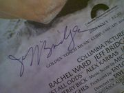 Bridges, Jeff  and Rachel Ward Against All Odds 1984 Sheet Music  Signed Autograph Color Cover Photo