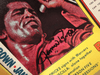 """Brown, James """"Rock And Soul Songs"""" Magazine 1972 Signed Autograph Color Cover Photo"""