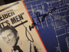 """Burns and Schreiber Jack Burns and Avery Schreiber """"The Watergate Comedy Hour"""" 1976 LP Signed Autograph """"The President's Men"""""""