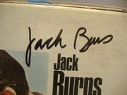 Burns And Schreiber LP Signed Autograph In One Head And Out The Other