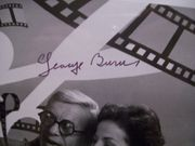 Burns, George Photo Signed Autograph Marilyn BeckS Second Annual Hollywood Out Takes 1978