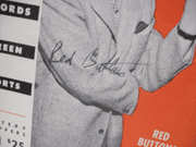 Buttons, Red Magazine Signed Autograph Leisure Time Nov 1 1953
