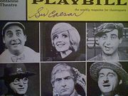 Caesar, Sid  Little Me 1963 Playbill Signed Autograph Cover Photo