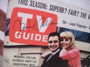 Callan, Mickey Michael TV Guide Signed Autograph Occasional Wife