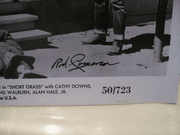 Cameron, Rod Photo Signed Autograph Short Grass 1950