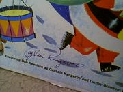 Captain Kangaroo LP Signed Autograph Merry Merry Christmas