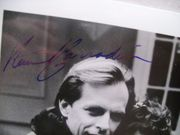 Carradine, Keith Richard Widmark Photo Signed Autograph Mask Of Murder