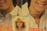 Cassidy, Shaun Parker Stevenson Tiger Beat Magazine Signed Autographed August 1977 Hardy Boys