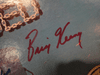 """Chambers Brothers Lester Chambers Joe Chambers Willie Chambers George Chambers Brian Keenan """"Unbonded"""" 1973 LP Signed Autograph"""