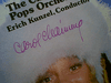 """Channing, Carol """"Peter And The Wolf/Tubby The Tuba"""" 1979 LP Signed Autograph Color Photo"""