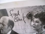 Clark, Fred Photo Signed Autograph Here Come The Girls 1953