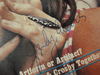 """Collins, Judy """"Crawdaddy"""" Magazine 1972 Signed Autograph Color Cover Photo"""