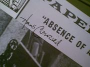 Conried, Hans  Absence Of Cello 1965 Papermill Playhouse Theatre Program Signed Autograph