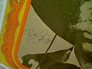 Cosby, Bill LP Signed Autograph Silver Throat Warner Bros
