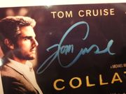 Cruise, Tom and Jamie Foxx Collateral 2004 Color Photo Signed Autograph