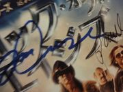 Cruise, Tom Paul Giamatti Russell Brand Catherine Zeta Jones Rock Of Ages 2012 Color Advertisement Photo Signed Autograph Japan