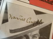 Cugat, Xavier Sheet Music Signed Autograph Mexicali Rose