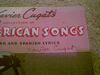 Cugat, Xavier Song Book Signed Autograph Pan American Songs 1942