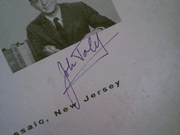 Daly, John Charles  The Space Age 1960 LP Signed Autograph WhatS My Line?