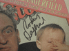 Dangerfield, Rodney Rolling Stone Magazine 1980 Signed Autograph Color Cover Photo