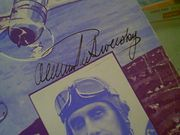 De Seversky  Deseversky, Alexander  Over Land And Over Sea 1937 Sheet Music Signed Autograph Cover Photo Air Force