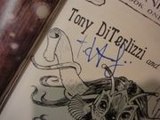 DiTerlizzi, Tony and Holly Black Beyond The Spiderwick Chronicles The Nixies Song 2007 Book Signed Autograph Illustrated