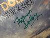 """Dolby, Thomas  """"Blinded By Science"""" 1983 LP Signed Autograph"""