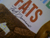 """Domino, Fats  1957 Imperial Picture Cover Only Signed Autograph """"Here Comes Fats"""""""