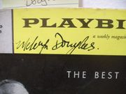 Douglas, Melvyn Playbill Signed Autograph The Best Man 1961