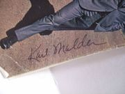 Douglas, Michael Karl Malden Tv Guide Signed Autograph Feb 22 1974