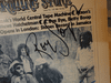 """Dr. Hook Ray Sawyer Dennis Locorriere """"Cover Of The Rolling Stone"""" 1973 Sheet Music Signed Autograph Photograph Doctor Hook And The Medicine Show"""