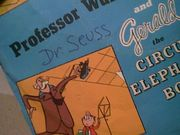 Dr. Seuss Gerald Mc Boing Boing 1956 45 RPM Record With Picture Sleeve Signed Autograph Cartoon