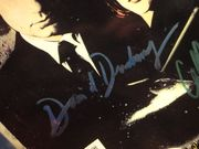 Duchovny, David and Gillian Anderson The X Files 1998 Graphic Novel Signed Autograph