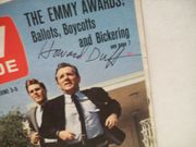 Duff, Howard TV Guide Signed Autograph The Felony Squad