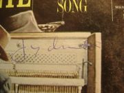 Durante, Jimmy LP Signed Autograph September Song