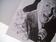 Durante, Jimmy Photo Signed Autograph Broadway To Hollywood