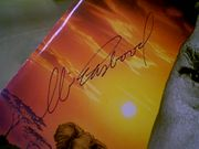 Eastwood, Clint  White Hunter Black Heart 1990 Press Kit Signed Autograph 6 Photos