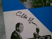 Eban, Abba  LP Horizons Of Peace 1956 United Nations Speech Signed Autograph Israel