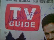 Eleventh Hour 1963 TV Guide Signed Wendell Corey Jack Ging Autograph Color Cover Photo