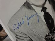 Father Knows Best Robert Young Jane Wyatt Publicity Photo Signed Autograph