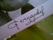 Fernandel Photo Signed Autograph French Comedy Star